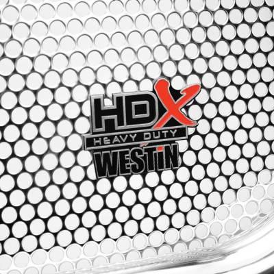 11-16 SUPER DUTY HD F250/350/450/550 Westin Polished HDX Heavy Duty Grille Guard