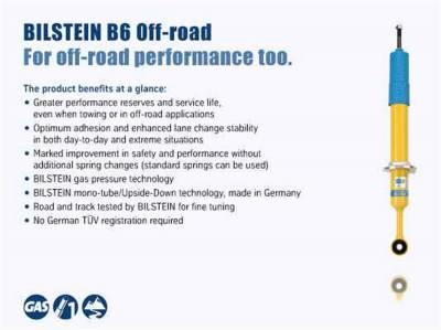 Bilstein Shocks - 4600 Bilstein Series - Stock Height Rear Shock Absorber | 14-20 RAM 2500