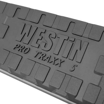 Westin - ProTraxx 5 in. Oval Step Bar Cab Length | Westin (21-53945)
