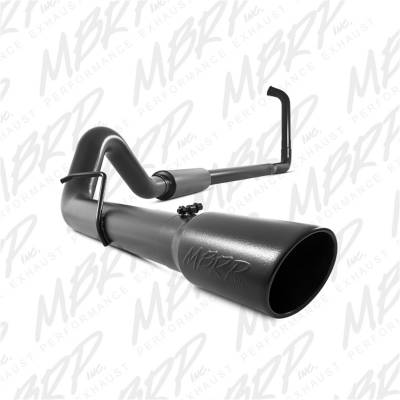 MBRP Exhaust - Black Series Turbo Back Exhaust System | MBRP Exhaust (S6212BLK)