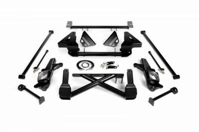 Cognito Motorsports - Cognito 10-12 Inch Front Suspension Lift Kit For 07-10 Silverado/Sierra 2500HD/3500HD 2WD 07-13 2500 2WD SUVS Stabilitrak