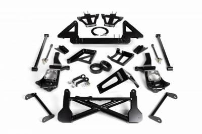Cognito Motorsports - Cognito 10-12 Inch Front Suspension Lift Kit For 11-12 Silverado/Sierra 2500HD/3500HD 4WD Non-Stabilitrak