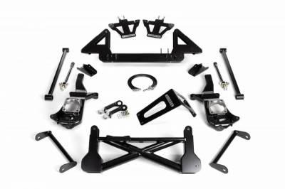 Cognito Motorsports - Cognito 10-12 Inch Front Suspension Lift Kit For 11-19 Silverado/Sierra 2500HD/3500HD 2WD Stabilitrak