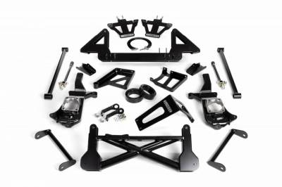 Cognito Motorsports - Cognito 10-12 Inch Front Suspension Lift Kit For 11-19 Silverado/Sierra 2500HD/3500HD 4WD Stabilitrak
