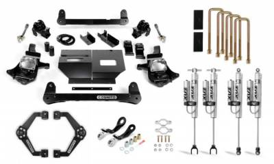 Cognito Motorsports - Cognito 4-Inch Performance Lift Kit with Fox PSRR 2.0 for 11-19 Silverado/Sierra 2500/3500 2WD/4WD