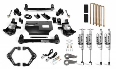 Cognito Motorsports - Cognito 6-Inch Performance Lift Kit with Fox PSRR 2.0 for 11-19 Silverado/Sierra 2500/3500 2WD/4WD