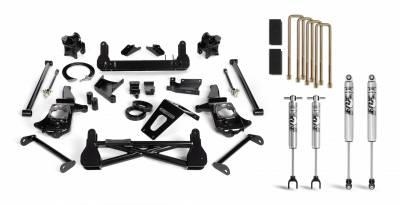 Cognito Motorsports - Cognito 7 Inch Standard Lift Kit For 11-19 Silverado/Sierra 2500HD/3500HD Stabilitrak