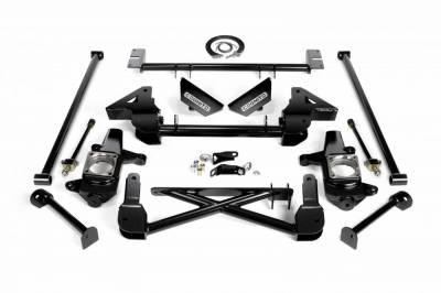 Cognito Motorsports - Cognito 7-9 Inch Front Suspension Lift Kit For 07-10 Silverado/Sierra 2500HD/3500HD