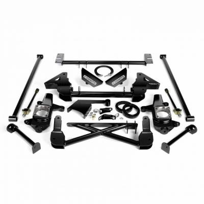 Cognito Motorsports - Cognito 7-9 Inch Front Suspension Lift Kit For 07-10 Silverado/Sierra 2500HD/3500HD 4WD 07-13 2500 4WD SUVS Stabilitrak