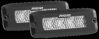 Rigid Industries - Flood Diffused Backup Flush Mount Kit SR-Q Pro RIGID Industries