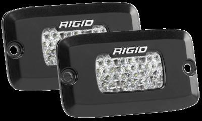 Rigid Industries - Diffused Backup Flush Mount Kit SR-M Pro RIGID Industries