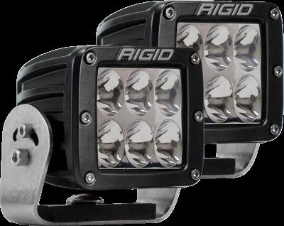 Rigid Industries - Heavy Duty Driving Pair D-Series Pro RIGID Industries