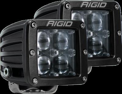 Rigid Industries - Hyperspot Surface Mount Pair D-Series Pro RIGID Industries