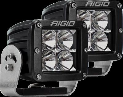 Rigid Industries - Heavy Duty Mount Flood Pair D-Series Pro RIGID Industries