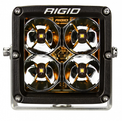 Rigid Industries - LED Light Pod 4 Inch Radiance POD XL Amber Backlight Pair RIGID