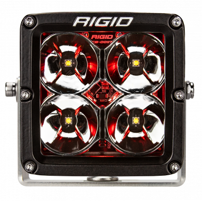 Rigid Industries - LED Light Pod 4 Inch Radiance POD XL Red Backlight Pair RIGID