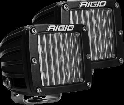 Rigid Industries - SAE Fog Light Pair D-Series Pro RIGID Industries