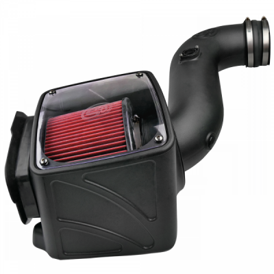 S&B Products - Cold Air Intake For 06-07 Chevrolet Silverado GMC Sierra V8-6.6L LLY-LBZ Duramax Cotton Cleanable Red S&B
