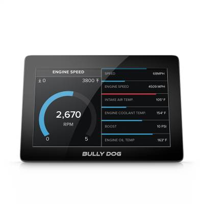 Bully Dog - GTX Watchdog Gauge Monitor 5 Inch Capacitive Touch Screen Not Legal For Sale Or Use In California Bully Dog