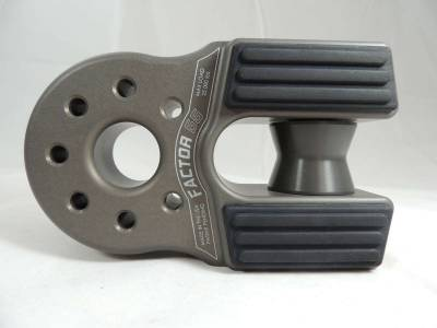 Factory 55 - FlatLink XXL Winch Shackle Mount Assembly Anodized Gray Factor 55