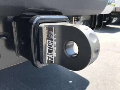 Factory 55 - HitchLink 3.0 Reciever Shackle Mount 3 Inch Receivers Anodized Gray Factor 55