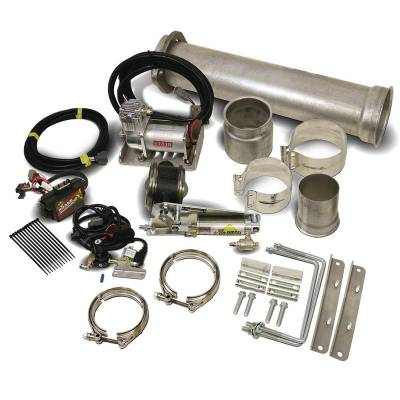 BD Diesel | 1027150| 11-16 Ford 6.7L Powerstroke Exhaust Brake (Remote) C/W Air Compressor