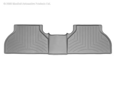 Interior Accessories - Floor Mats and Cargo Liners - WeatherTech - 15-19 Silverado/ Sierra 2500/3500 - WeatherTech w/OE Rear Under Seat Storage Floor Mat Grey