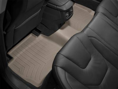Interior Accessories - Floor Mats and Cargo Liners - WeatherTech - 99-10 Ford F250 SUPER DUTY SUPER CAB - WeatherTech REAR FLOORLINER TAN