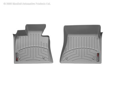 Interior Accessories - Floor Mats and Cargo Liners - WeatherTech - 15-19 Sierra & 14-20 Silverado  2500/3500 Crew Cab - WatherTech Over the Hump Front Floorliner  Grey