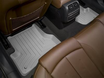 Interior Accessories - Floor Mats and Cargo Liners - WeatherTech - 11-16 Ford F250/F350/F450/F550 Super Cab - WeatherTech Rear Floor Mats Grey