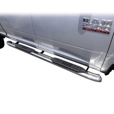 Westin - ProTraxx 5 in. Oval Step Bar Cab Length | Westin (21-53560) - Image 4