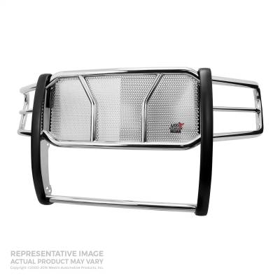 Westin - 07-10 SILVERADO 2500/3500 Westin Polished HDX Heavy Duty Grille Guard