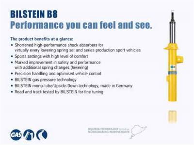 Bilstein Shocks - B8 5160 Shock Absorber | Bilstein Shocks (25-254785)