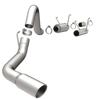 Exhaust - Exhaust System Kit - Magnaflow Performance Exhaust - MF Series Performance Filter-Back Diesel Exhaust System | Magnaflow Performance Exhaust (16382)