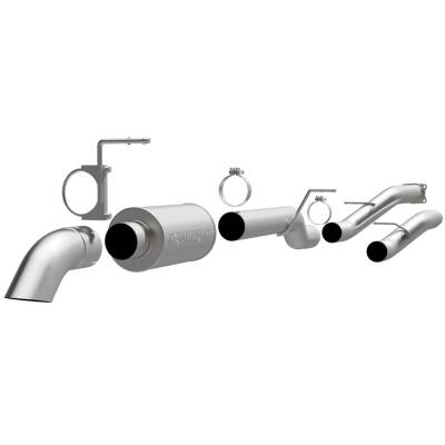 Exhaust - Exhaust System Kit - Magnaflow Performance Exhaust - Off Road Pro Series Cat-Back Exhaust System | Magnaflow Performance Exhaust (17130)