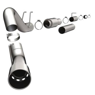 Exhaust - Exhaust System Kit - Magnaflow Performance Exhaust - MF Series Performance Filter-Back Diesel Exhaust System | Magnaflow Performance Exhaust (16982)
