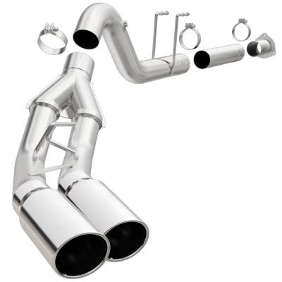 Exhaust - Exhaust System Kit - Magnaflow Performance Exhaust - Pro Series Performance Diesel Exhaust System | Magnaflow Performance Exhaust (18909)