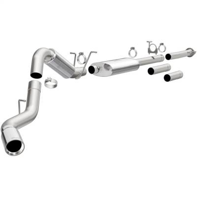 Exhaust - Exhaust System Kit - Magnaflow Performance Exhaust - MF Series Performance Cat-Back Exhaust System | Magnaflow Performance Exhaust (19026)