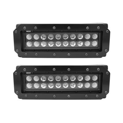 Westin - HDX Stealth Flush Mount LED Light Bar Kit | Westin (57-0035)