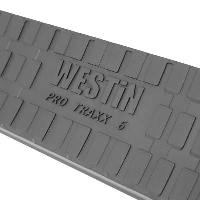 Westin - ProTraxx 6 in. Oval Step Bar Cab Length   Westin (21-61955) - Image 6