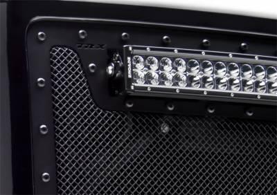 T-Rex Grilles - 2011-2016 Ford F250/F350/F450/F550 Super Duty T-Rex Balck Stealth X-Metal Grille , 1 Pc, Insert, Black Studs - Image 2