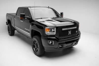 T-Rex Grilles - 2011-2016 Ford F250/F350/F450/F550 Super Duty T-Rex Balck Stealth X-Metal Grille , 1 Pc, Insert, Black Studs - Image 4