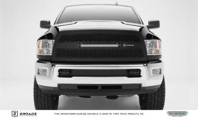 "T-Rex Grilles - 13-18 RAM 2500/3500  ZROADZ Series LED Light Grille with (1) 20"" LED, 1 Pc, Replacement"