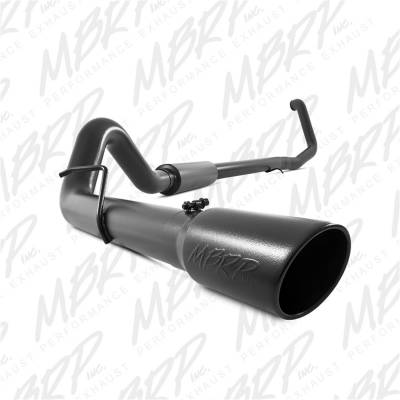 Exhaust - Exhaust System Kit - MBRP Exhaust - Black Series Turbo Back Exhaust System | MBRP Exhaust (S6200BLK)