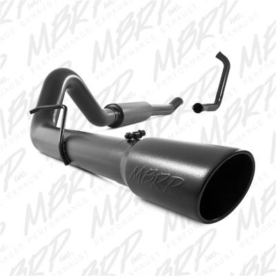 Exhaust - Exhaust System Kit - MBRP Exhaust - Black Series Turbo Back Exhaust System | MBRP Exhaust (S6206BLK)