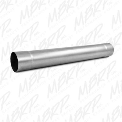 MBRP Exhaust - Installer Series Single System Muffler Delete Pipe | MBRP Exhaust (MDA30)