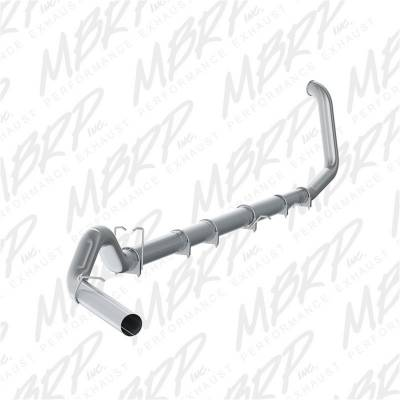 Exhaust - Exhaust System Kit - MBRP Exhaust - PLM Series Turbo Back Exhaust System | MBRP Exhaust (S62220PLM)