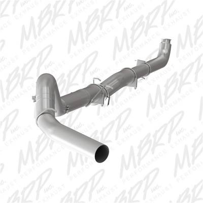 Exhaust - Exhaust System Kit - MBRP Exhaust - SLM Series Off Road Down Pipe Back Exhaust System | MBRP Exhaust (S60200SLM)