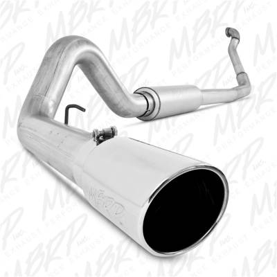 MBRP Exhaust - Installer Series Off Road Turbo Back Exhaust System | MBRP Exhaust (S6218AL)