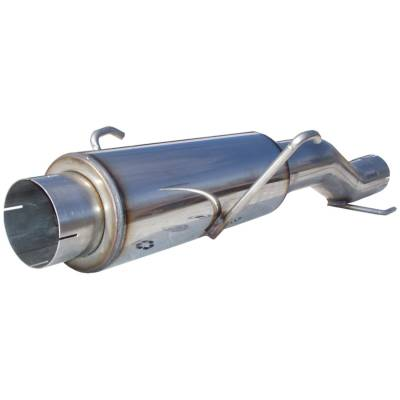 Exhaust - Muffler - MBRP Exhaust - High Flow Muffler Assembly | MBRP Exhaust (MK96116)